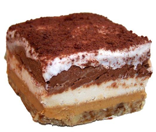 Paleo No Bake Decadent Layer Cake