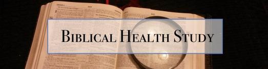 Biblical Health Study